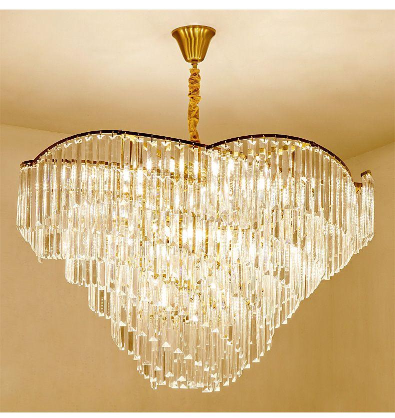 Lampadario moderno soggiorno lampade semplice illuminazione atmosfera casa  lampada camera da letto di lusso lampada semplice ristorante europeo di ...