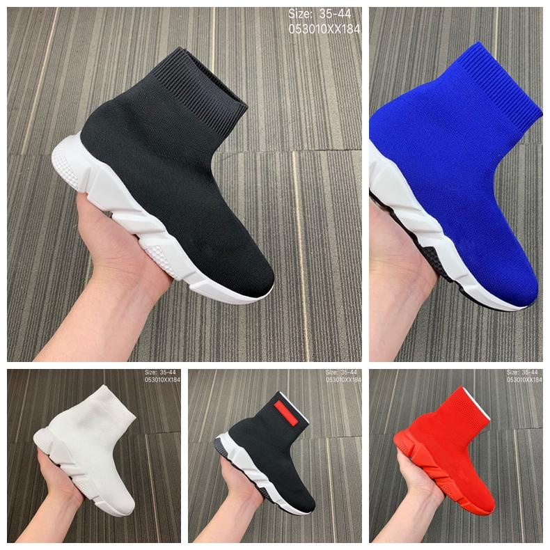 Luxury Sock Shoes Casual Shoe Speed Trainer High Quality Sneakers Speed Trainer Sock Race Runners black Shoes men and women Luxury Shoe M3