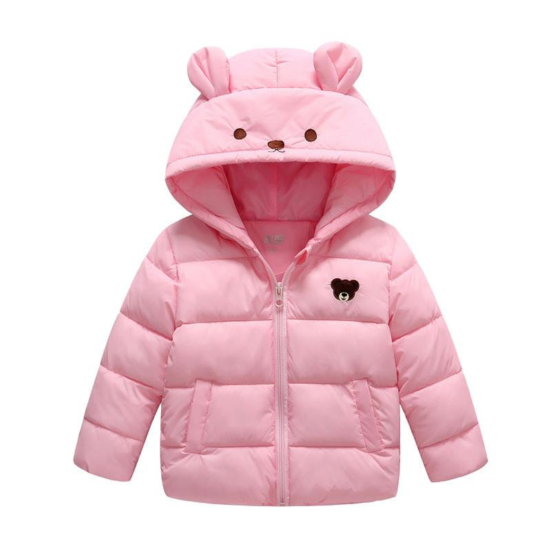 9659adc6dba4 Good Quality Winter Girls Jackets Children Girls Cotton Hooded ...