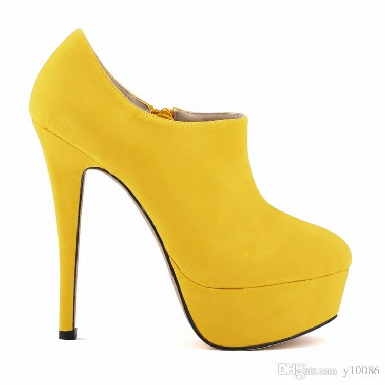 Acheter Talons Hauts Habillées Parti Femmes Chaussures Dames Femmes Pompes  Taille Us Printemps Et Automne Terry Bottines De  251.26 Du Y10086    DHgate.Com 89f3ac9e37ef