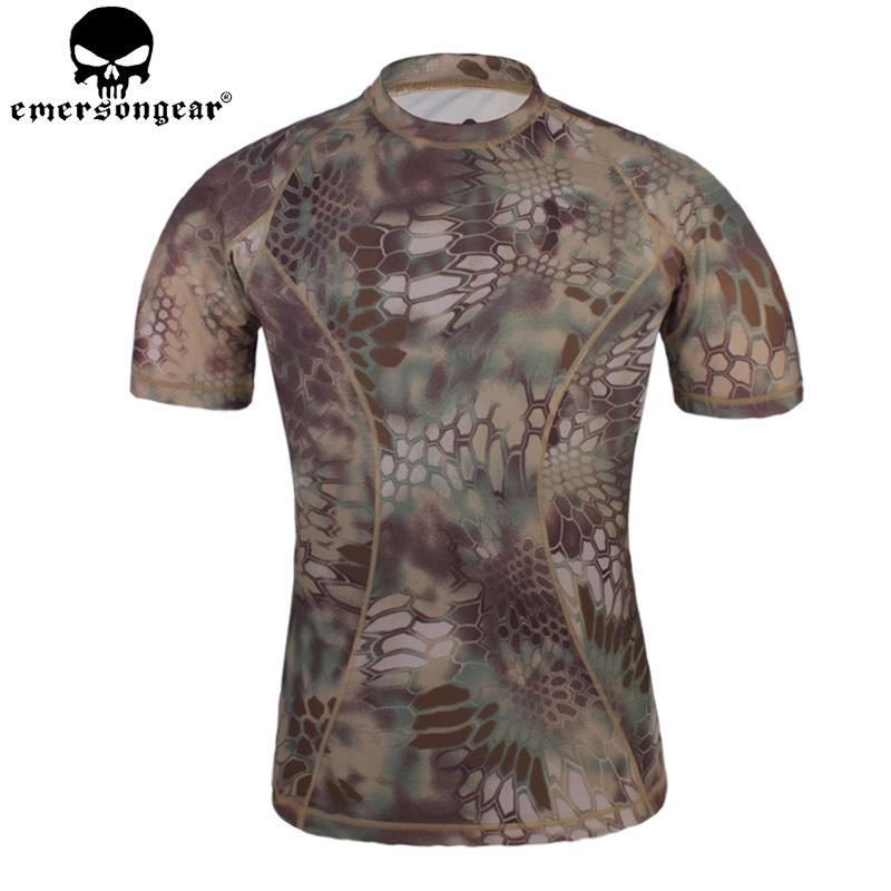 5a56c627adf8d 2019 Emersongear Camouflage Running Shirts Skin Tight Base Layer T Shirt  Breathable Perspiration Shirt Base Layers EM8605 From Diedou, $58.78 |  DHgate.Com