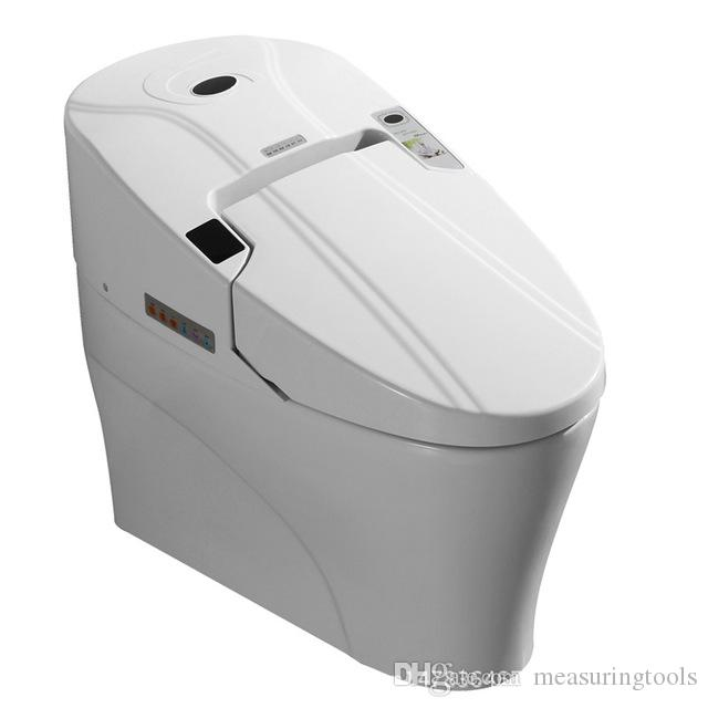 Smart Toilet Commode Fully Integrated Bidet System Bathroom Closestool  Toilette Floor Mounted Toilets Bowl Heated Seat