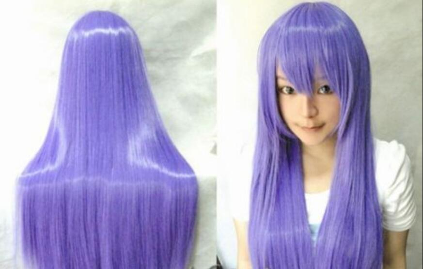 12/'/' Bob Cut Eggplant Purple Synthetic Cosplay Wig NEW