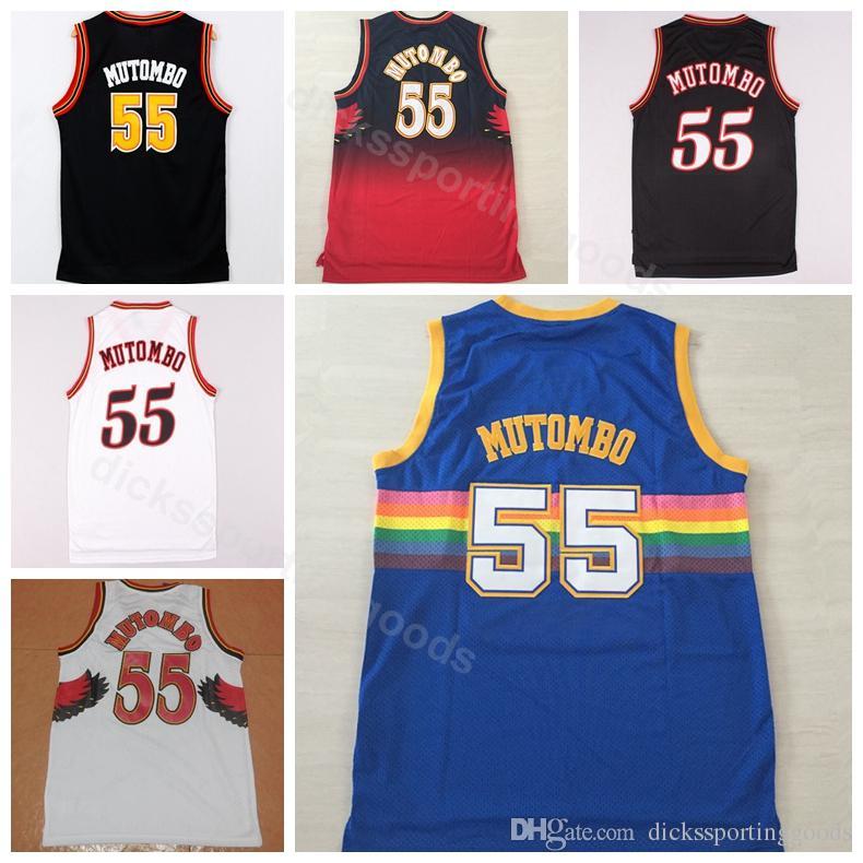 huge selection of 49552 737ec dikembe mutombo jersey