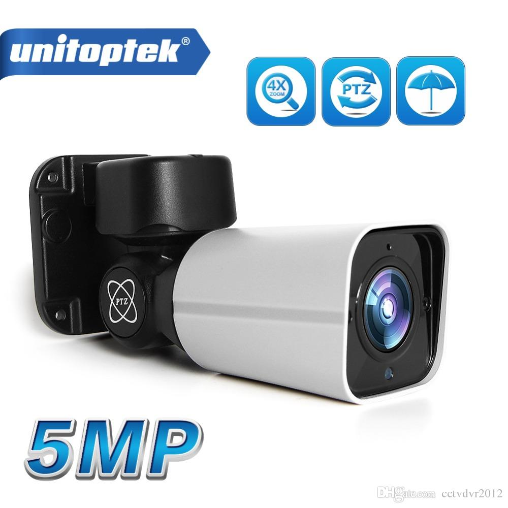 Mini Outdoor PTZ Bullet IP Camera 5MP 2592x1944 Full HD 4X Optical Zoom  IP66 Waterproof 50m IR Night Vision CCTV Security Camera