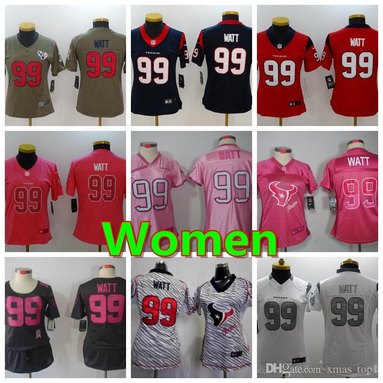 8843927b low cost pink jj watt jersey 41d8c 19b84