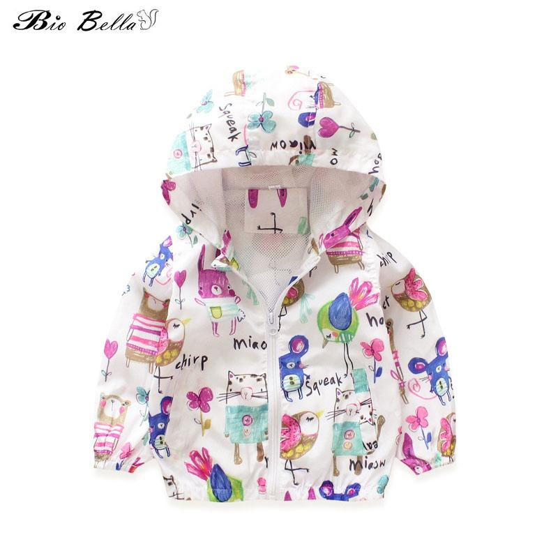 Children Hooded Graffiti Dinosaur Printed Boy Outerwear Long Sleeve Cartoon Spring Autumn Child Coats Outfits New Kids Jackets