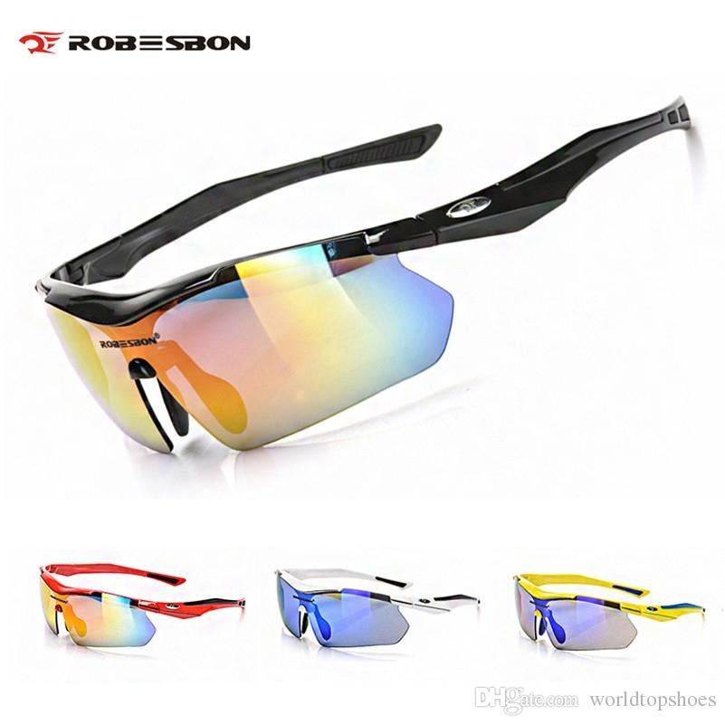 ff37bcdc6f2 2019 ROBESBON Polarized Photochromic Cycling Glasses TAC Oculos Ciclismo  Outdoor Sports Bicycle Eyewear Road MTB Bike Cycling Glasses  42783 From ...