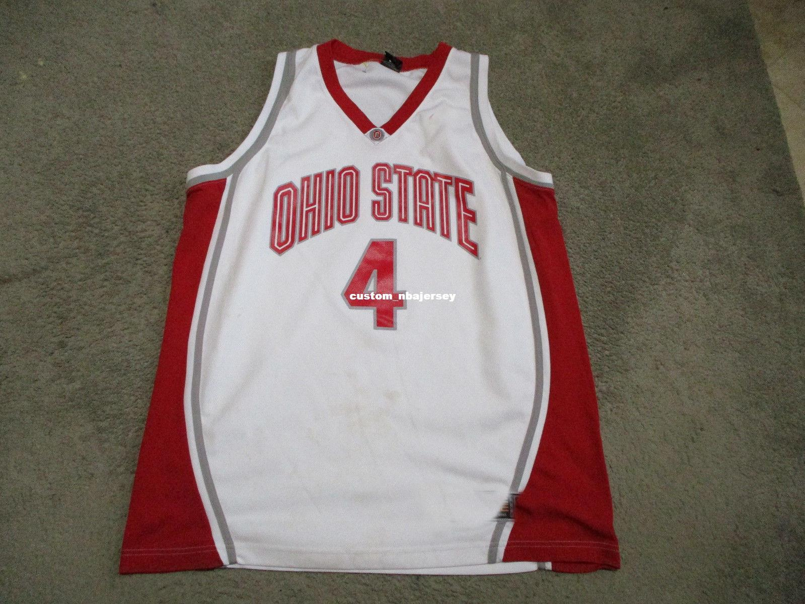e2a467e68 2019 Cheap Custom VINTAGE Ohio State Buckeyes Basketball Jersey OSU  Stitched Customize Any Number Name MEN WOMEN YOUTH XS 5XL From  Custom nbajersey