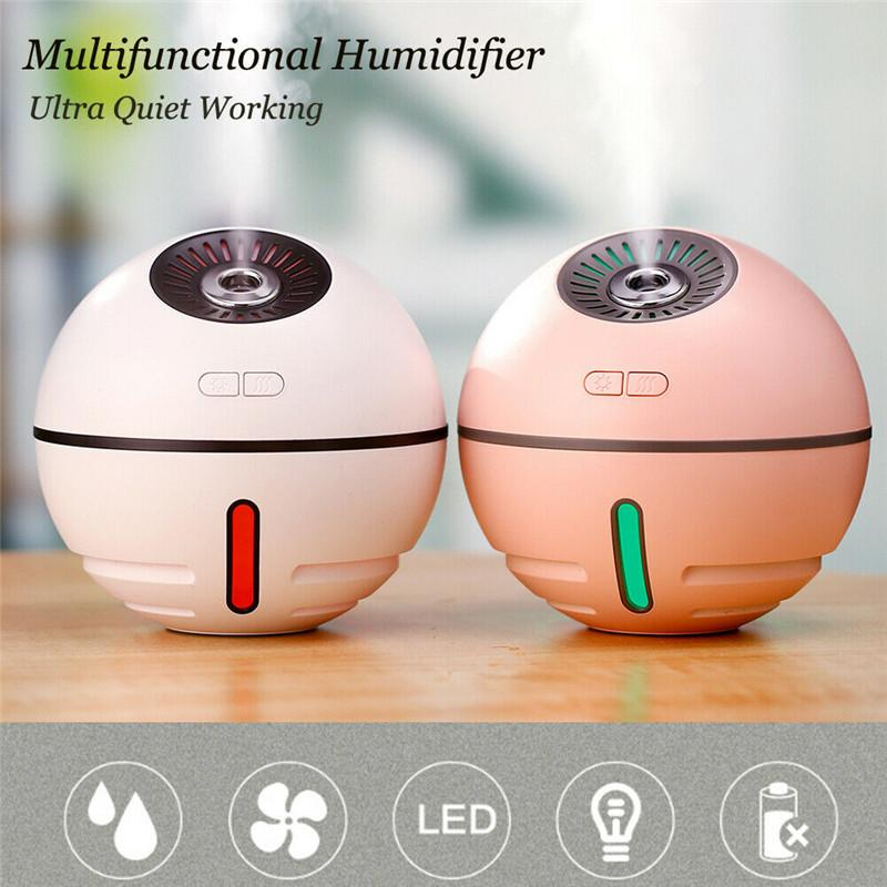 Changeable Aroma Essential Oil Diffuser Mini USB Air Humidifier Portable Ultrasonic Mist Humidifier Air Purifier LED Purifier