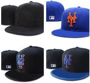 High Quality New York Mets Fitted Hats For Men Women Sports Hip Hop Mens  Bones Cap Headwear Flat Caps From C1181010524 0572d348d