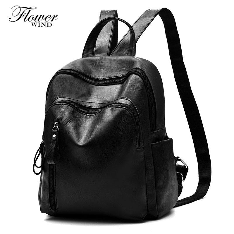 274a0374ce08 Vintage Casual New Style Leather School Bags High Quality Hotsale Women  Double Zipper Clutch Famous Designer Brand Backpack Leather Backpack Laptop  Backpack ...