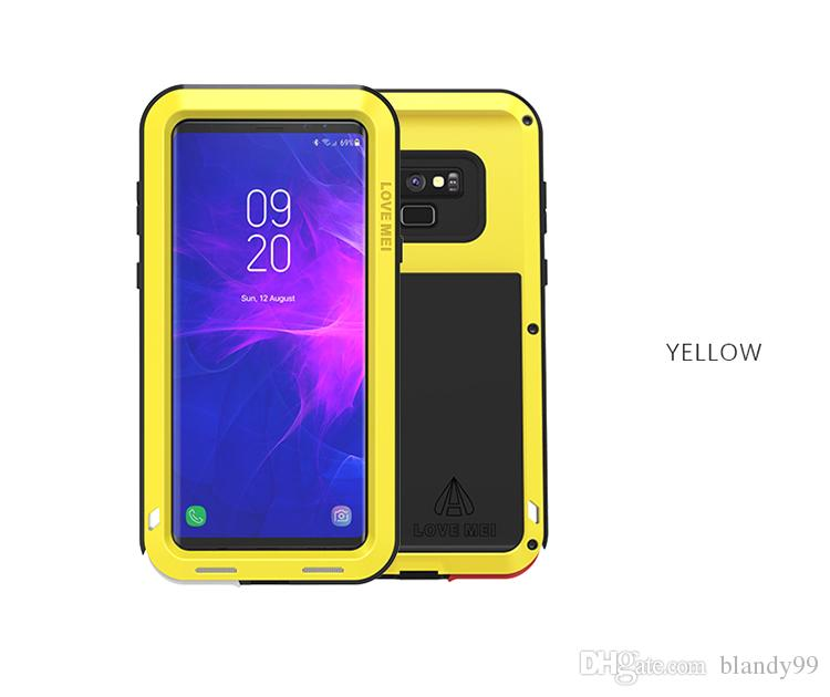 f2e8efc29eb66f Etui Pour Mobile Pour Samsung Galaxy Note 9 Cas LOVE MEI Shock Dirt Preuve  Résistant À L eau Résistant À L eau Armure Couverture Téléphone Cas Pour  Samsung ...