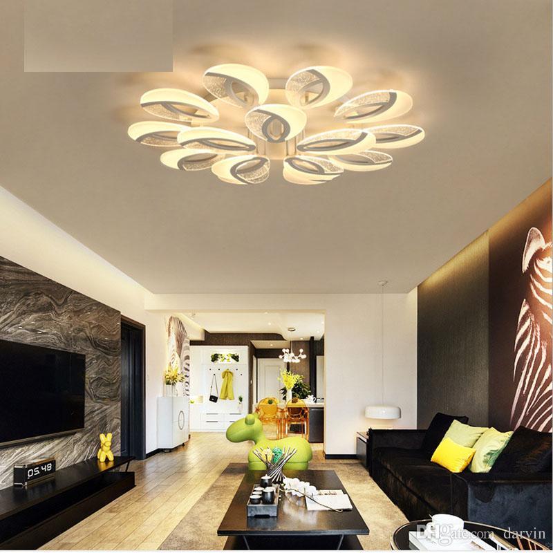 Acquista plafoniere moderne principali acriliche ac110v for Plafoniere moderne per soggiorno