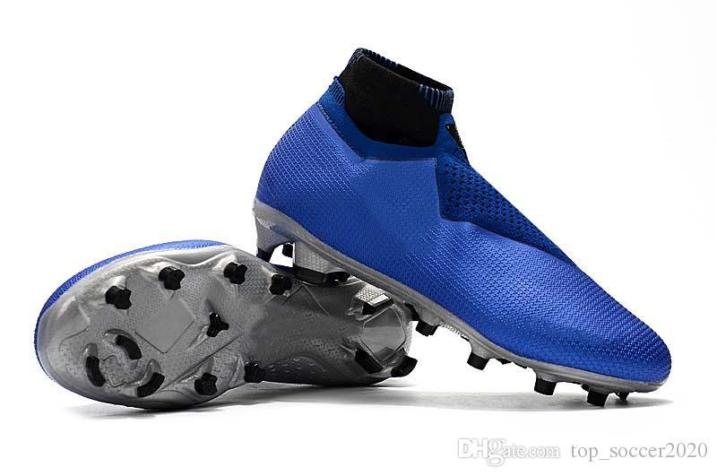 b2eaf92f3 2019 Hot Sale 2019 Original Black Gold Phantom VSN Shadow Elite DF FG AG  Football Boots Soccer Shoes Mens Outdoor Soccer Cleats From Top soccer2020