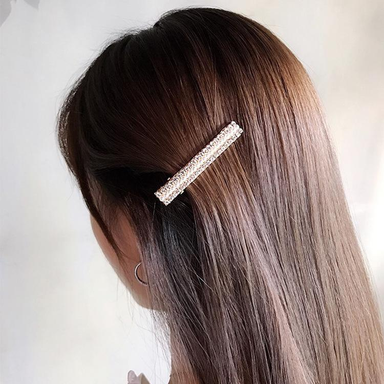 434f4a87a3452 Fashion Korea INS Pearl Hairpin Lady Diamond Flower Hairpin Bobby Pin  Decorate Will Fringe Adult Headwear Hair Accessories Women Hair Clips For  Women From ...