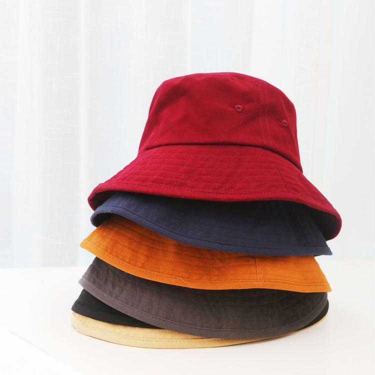 Compre Sombrero De Pescador De La Vendimia Marea De Las Mujeres Color Sólido  Harajuku Flojo Lavabo Sombrero Joker Sombrero De Sol Al Aire Libre A  5.03  Del ... 738e388ae61