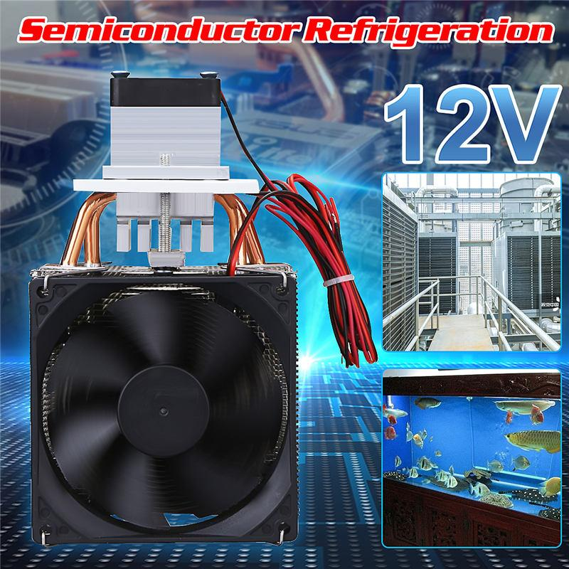 Brand New Household 72W Peltier Cooler Refrigeration Mini Refrigerator Pet  Airconditioner Cpu Cooling Computer Cooler Finished Set