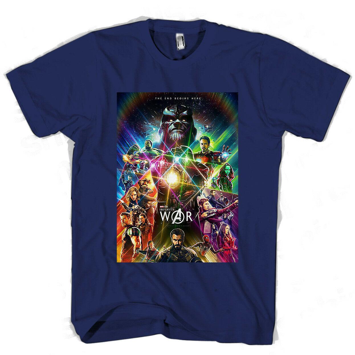 Infinity War Concept Art Poster Men S Women S T Shirt Funny Free Shipping Unisex Casual Tshirt Top