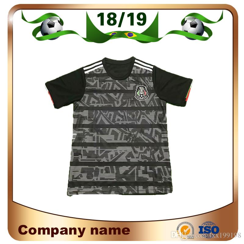 3e8d133ec65 2018 Mexico CCCF Gold Cup Soccer Jersey 18/19 Mexico #14 CHICHARITO ...
