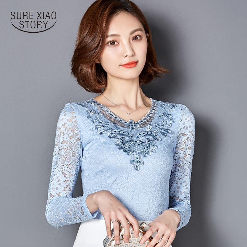 7b2a0c9f06d503 2019 2018 Fashion Summer Style Blusa Crochet Diamond Lace Blouse Elegant Women  Tops Plus Size Sexy Slim Hollow Out Shirts 918b 25 C19041201 From Shen8407,  ...