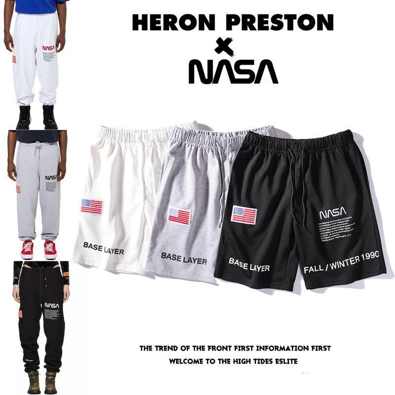b7eb6579f1 Compre Pantalones Cortos Para Hombres Bandera Nacional De Estados Unidos Bordado  Pantalones Cortos Impresión De Moda Pantalones Cortos De Ocio Nuevo Estilo  ...