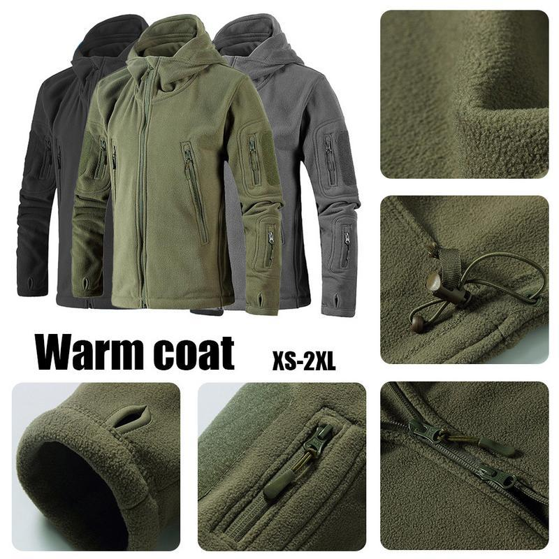 1b7088707b0 2019 Neutral Outdoor Thicken Winter Warm Coat Fleece Jacket Hiking  Mountaineering Jacket Outdoor Sports Clothes Plus Size XS 2XL From Teahong