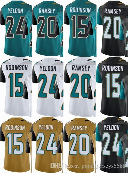 sports shoes 3c927 74c44 Jacksonville Jaguars custom men/youth/women #15 Allen Robinson 20 Jalen  Ramsey 24 Yeldon Vapor Untouchable Limited/rush/elite jerseys