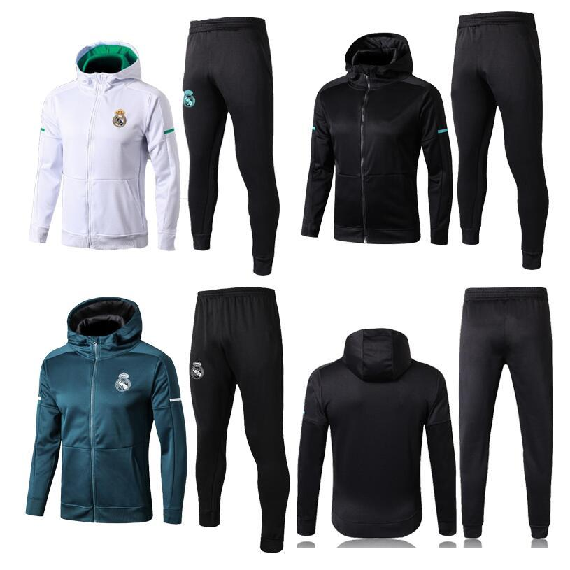 online retailer 672b8 aa4b1 New TOP Real Madrid soccer Jacket Tracksuit chandal Real Madrid training  suits MODRIC MARIANO ASENSIO Soccer Jersey training sports wear