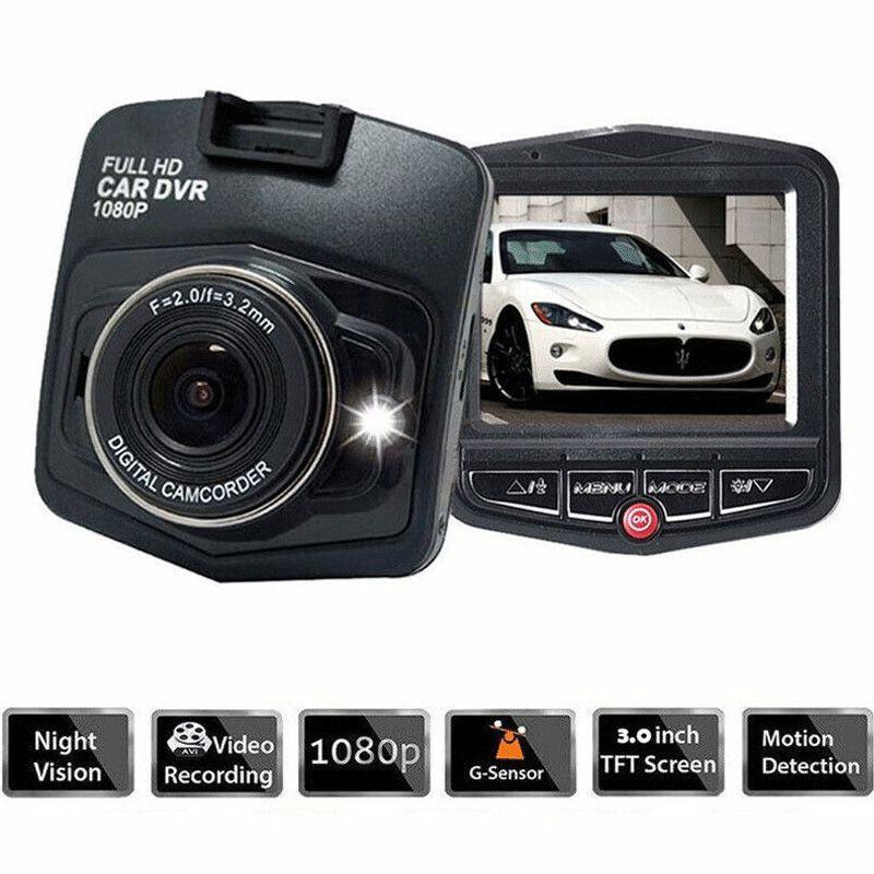 1080P HD DVR voiture caméra véhicule Dash Video Recorder Cam Night Vision G-Sensor