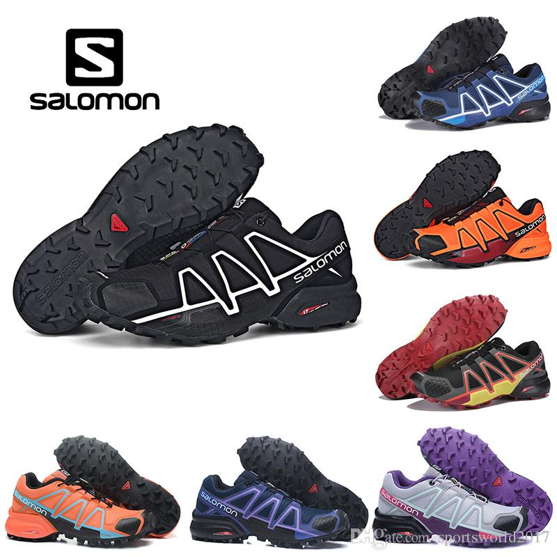 timeless design 16c54 c2c4a Salomon Speedcross 4 Mens Women Outdoor Shoes Speed Cross 4 CS Athletic  Running Sports Sneakers 36-46 20 Colors