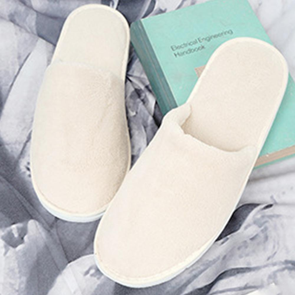 219aa97ca Women Men Home Salon Club Slippers Washable Indoor Disposable Soft Hotel Non  Slip Guest Wear Coral Velvet Booties Mens Boots From Tuoxiezi, $35.77|  DHgate.