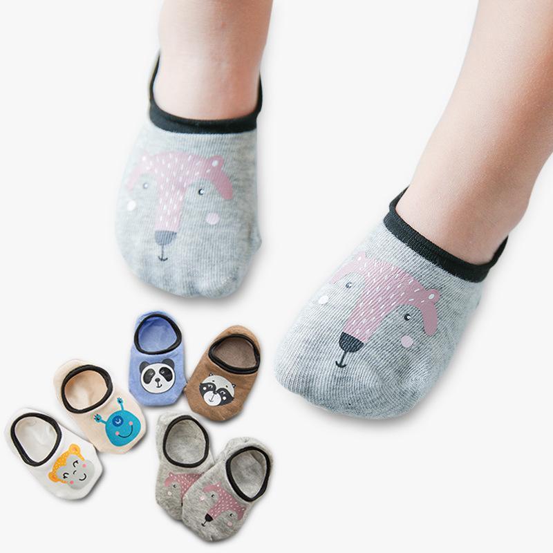 Socken & Strumpfhosen 1 Paar Unisex Baumwolle Ankle Baby Socken Für Jungen Mädchen Kind Kleinkind Nette Cartoon Kurze Boden Anti Slip Socken Frühling Sommer Socken