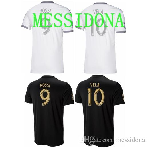 32374fd77 2019 2019 2020 LAFC LOS ANGELES FC VELA 10 ROSSI 9 GABER 4 Maillot De Foot Soccer  Jersey Football Shirt Kit Camiseta Futbol Maillot De Foot From Messidona