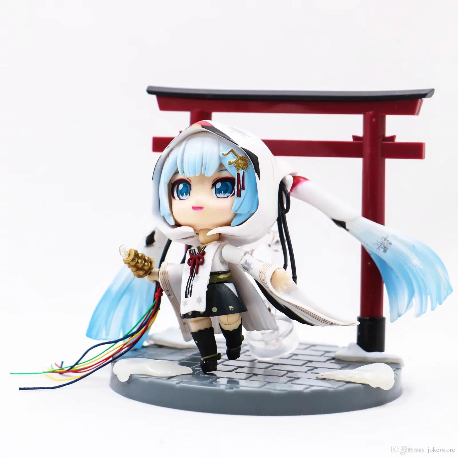 2019 Q Version Nendoroid 850# Snow Miku Hatsune Miku Anime Figures