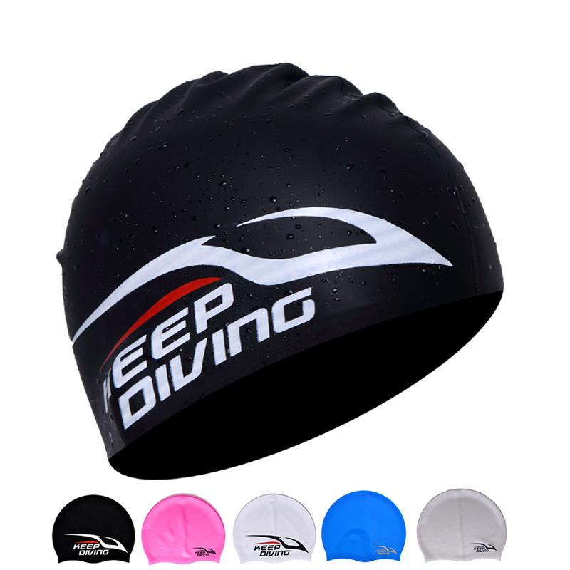 650d120b008 2019 Elastomeric Silicone Swim Cap For Swimming Snorkeling Diving Hood  Ultrathin Hat Protect Ears Waterproof Caps For Women Men Children Kids From  Hzh yzq