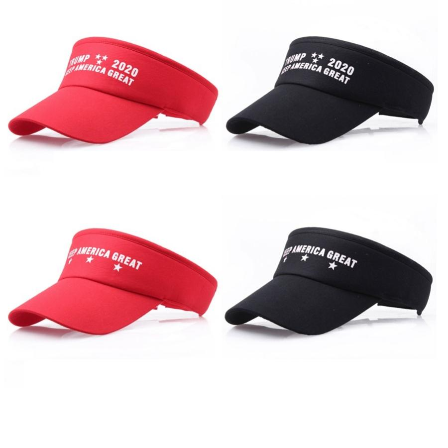 4c86caefb04 Fashion Trump Sports Visor Hat Donald Empty Top Running Cap Outdoor ...