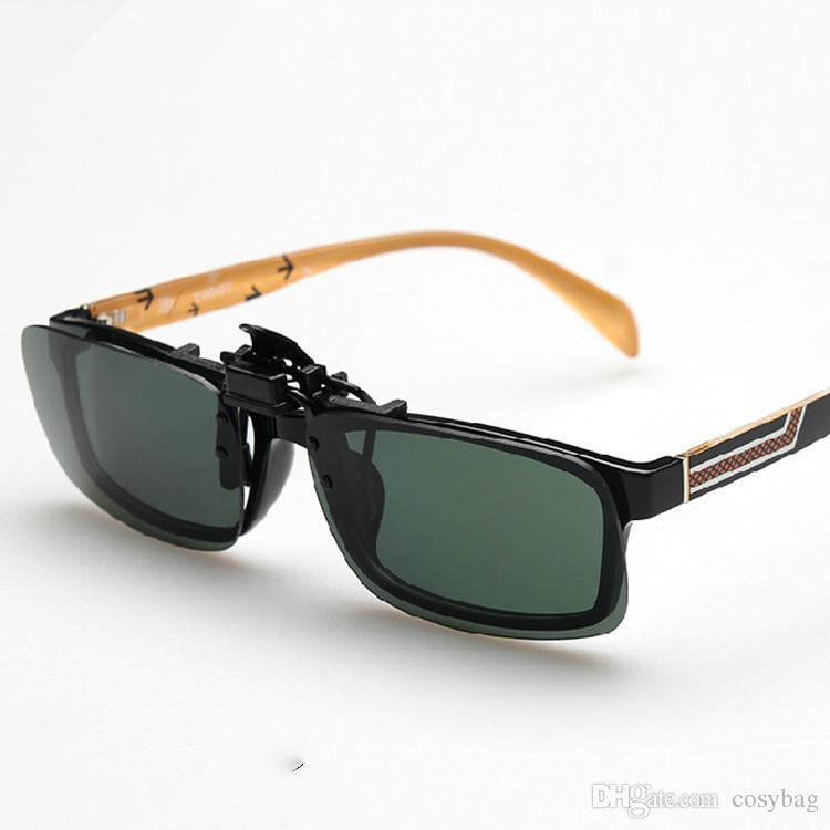 47fd60964c Compre Gafas De Sol Polarizadas Con Clip Antirreflejo Gafas De Conducción  Para Anteojos Recetados Para Hombres Mujeres Conducción Pesca Deporte Al  Aire ...