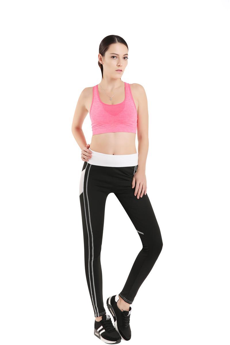 91eacc5eef045 2019 Fashion Sexy Fitness Legging Mesh Patchwork Athleisure Slim Leggings  Pants Sport Elastic Leggings For Women Yoga Leggings Size S XL From  Supking, ...