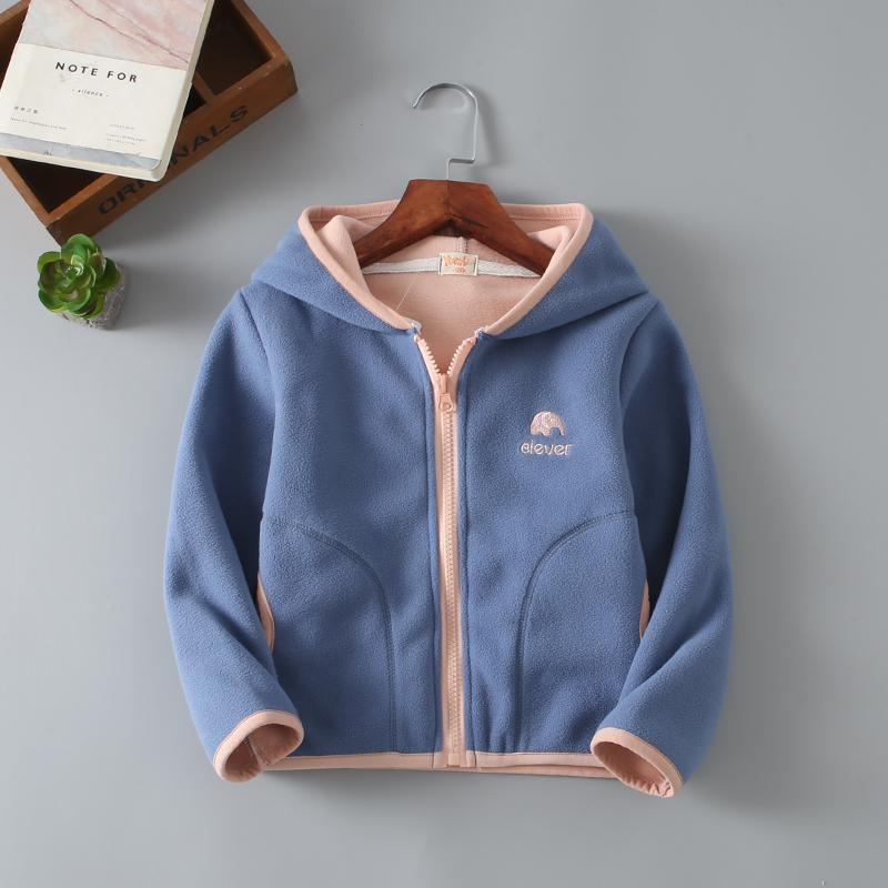 fc93cb543695 Children S Fleece Coats 2019 New Children S Clothing Spring And ...