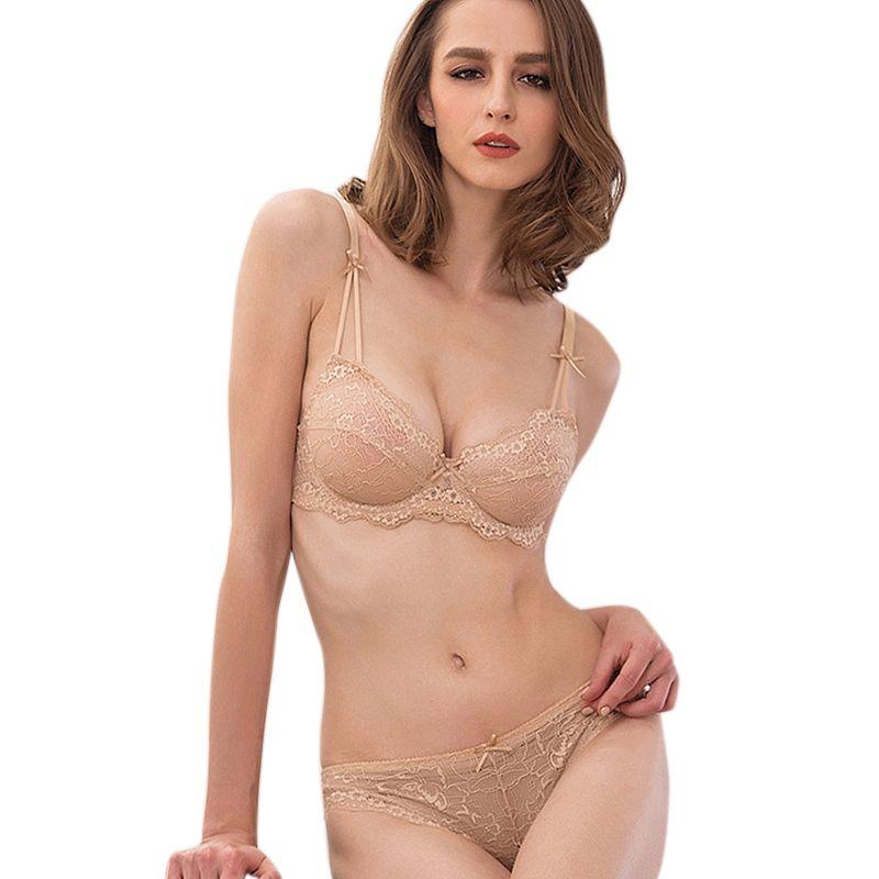 13cccacff31c8 Women's Vs Bra Set Lace Underwear Adjustable Thin Cup Lingerie Set Plus  Size Womens Bras And Underwear Sets