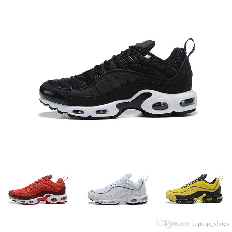2019 New Hot Sale TN Hommes Chaussures Chaussures de course Chaussures de tennis Chaussures entraîneur Baskets occasionnels TN plus Triple S Ultra