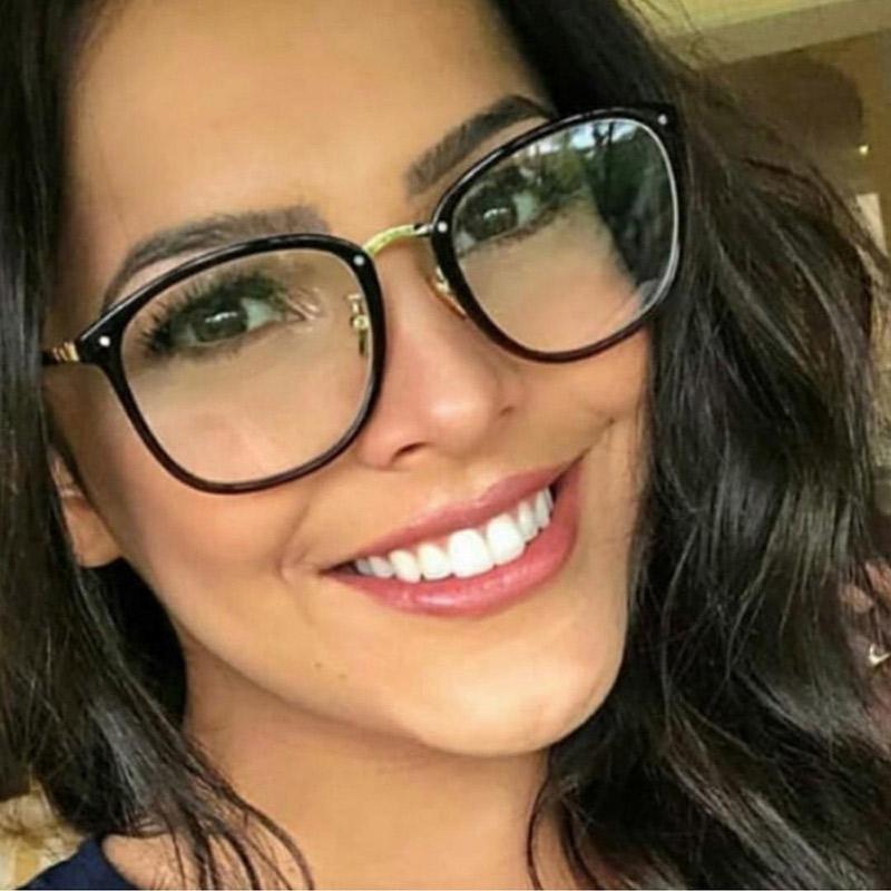 6918b66808 Compre Diseñador De Mujer Anteojos Ópticos Acetato De Prescripción Gafas  Para Gafas Marco Óptico Estilos De Moda 97309 Gafas A $21.62 Del Green_home  ...