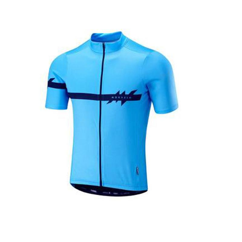 2019 New Morvelo team Cycling Short Sleeves jersey ropa ciclismo bike clothing maillot summer MTB sportwear K1120