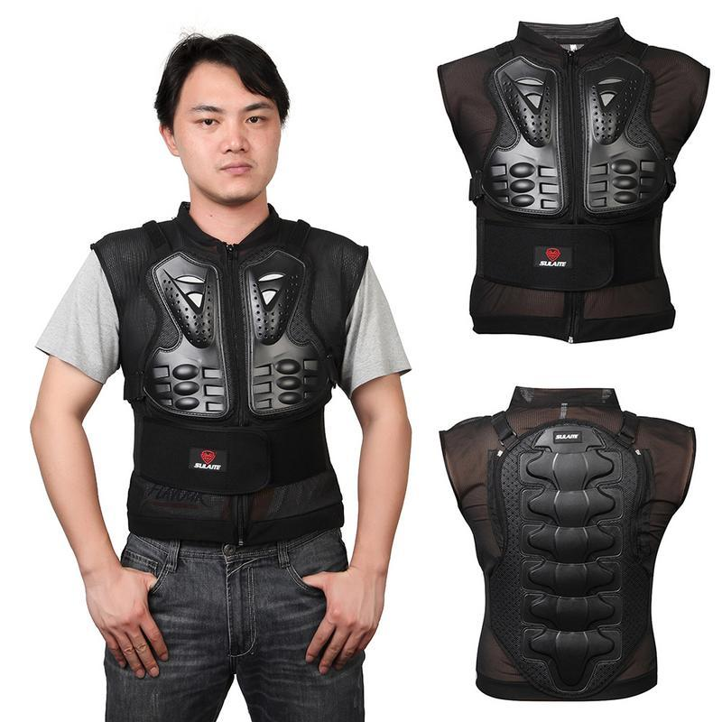 Motorcycle Riding Knight Protector Sleeveless Off-road Riding Armor Vest Jacket Back Guard