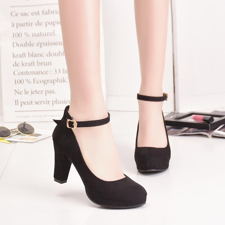 Designer Dress Shoes Eoeodoit Women New Spring Autumn High Heel