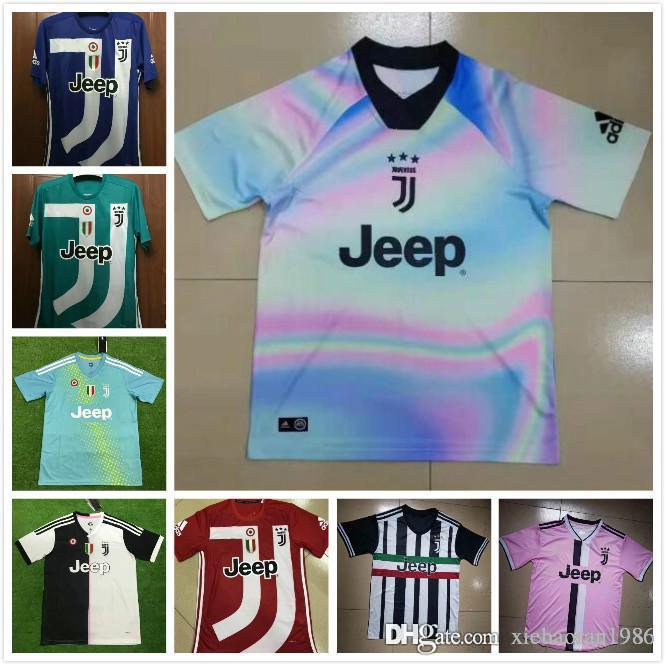 separation shoes caa01 2b8c7 2019 2020 Juventus new jersey 18 19 20 RONALDO DYBALA commemorative jerseys  home away 3RD new season football short sleeve jersey