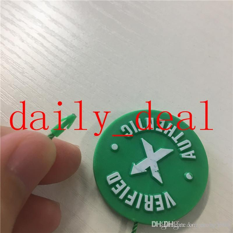 f38fffacaf3459 2019 In Stock X Green Circular Tag Plastic Shoe Buckle StockX Verified X  Authentic Green Tag For OFF Shoes Men White Wholesale Retail From  Kongkong5995