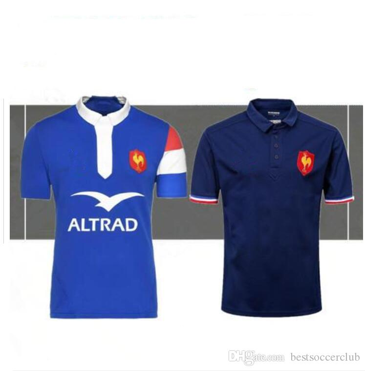2018 2019 France Rugby Jerseys 18 19 France Shirt League Jersey Casual  Clothes S-3xl France Rugby Jerseys France Rugby Rugby Jersey France Online  with ... d8f5c659d