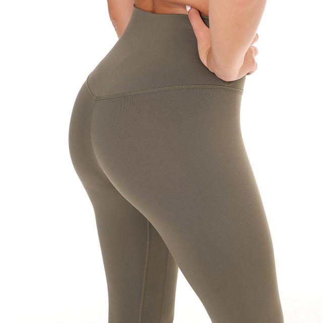 bb5db225c8625f 2019 Women Tight Sports Capri Sexy Yoga Tummy Control Legggings 4 Way  Stretch Fabric Non See Through Quality C19041701 From Linmei0006, $34.0 |  DHgate.Com